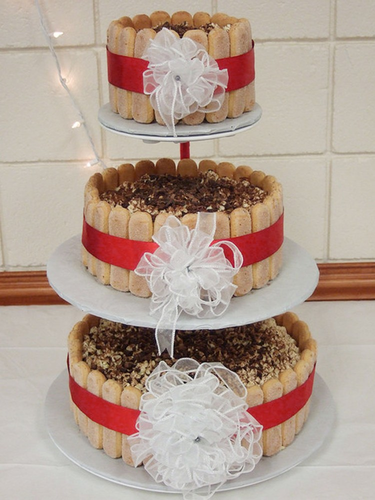 Tiramisu Wedding Cake Decoration 2 Picture in Wedding Cake