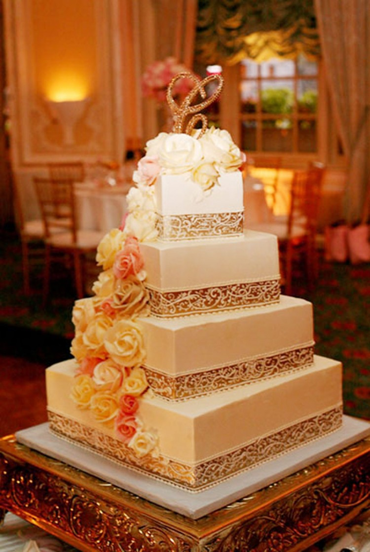 Tiramisu Wedding Cake Decoration 4 Picture in Wedding Cake