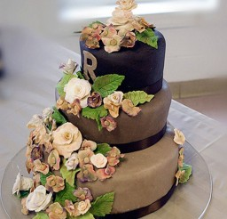 1024x1365px Tiramisu Wedding Cake Decoration 5 Picture in Wedding Cake