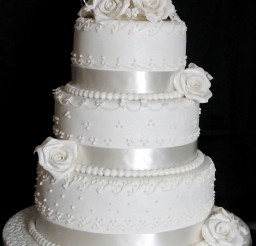 1024x1339px Triple Layer Wedding Cake Design 2 Picture in Wedding Cake
