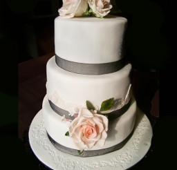 1024x1095px Triple Layer Wedding Cake Design 4 Picture in Wedding Cake