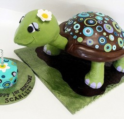 1024x694px Turtle Birthday Cake Ideas Picture in Birthday Cake