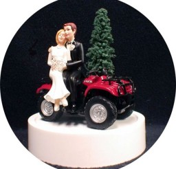 1024x1047px Uad ATV Off Road 4 Wheeler Wedding Cake Topper Picture in Wedding Cake