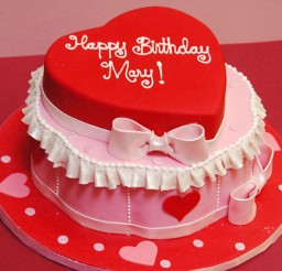 1024x985px Valentine Birthday Cake Display Picture in Birthday Cake