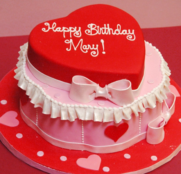 Valentine Birthday Cake Display Picture in Birthday Cake