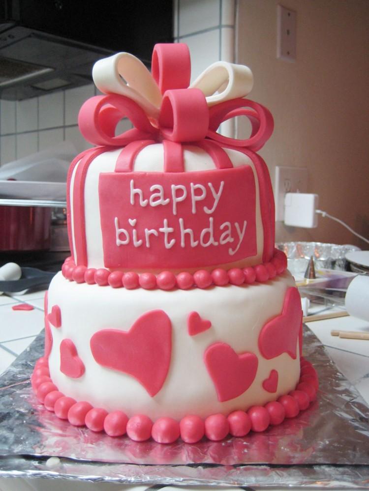 Valentine Cake House Birthday Cakes Picture in Birthday Cake