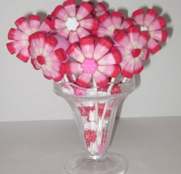 1024x1187px Valentines Cake Pop Flower Bouquet Picture in Valentine Cakes