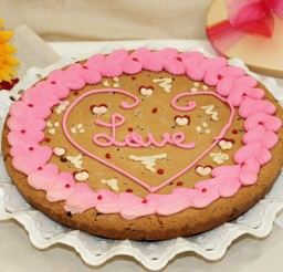 1024x819px Valentines Day Cookie Cake Picture in Valentine Cakes