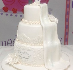 1024x1328px Waterfall Wedding Cake Ideas Picture in Wedding Cake