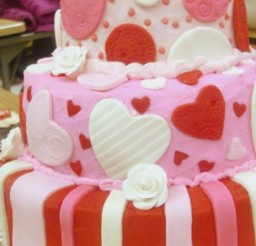 1024x1757px Wedding Valentine Day Cake Ideas Picture in Wedding Cake
