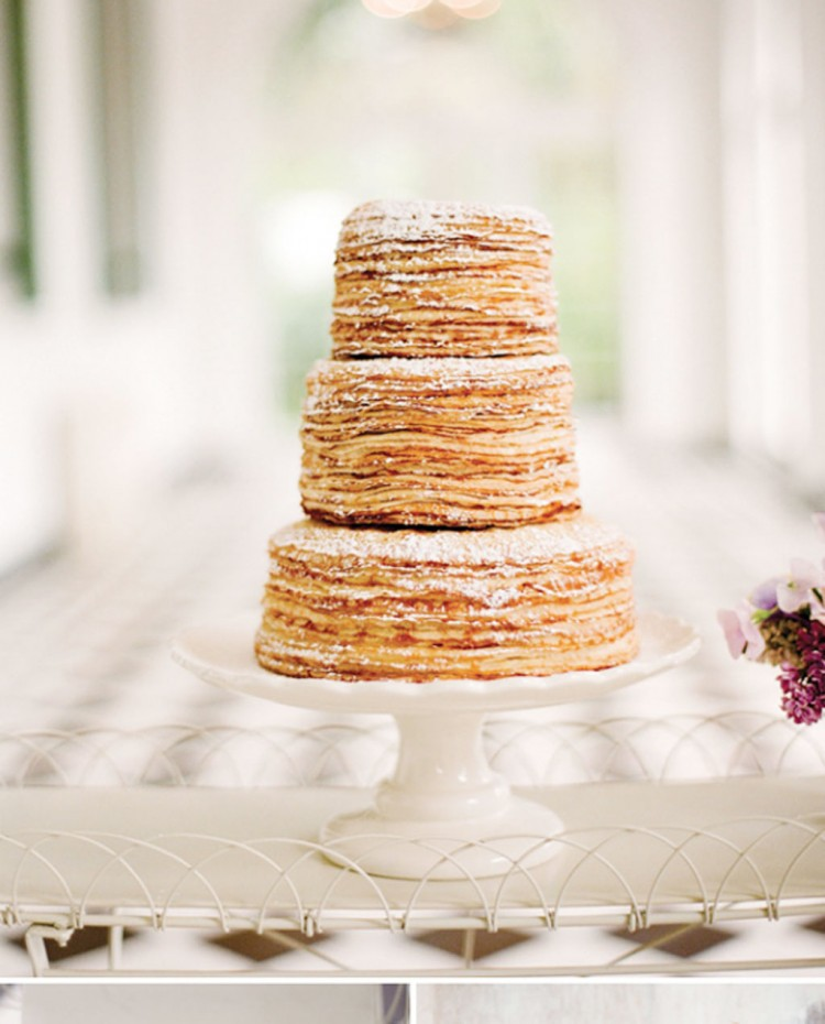 Wedding Cake A Base De Crepes Picture in Wedding Cake