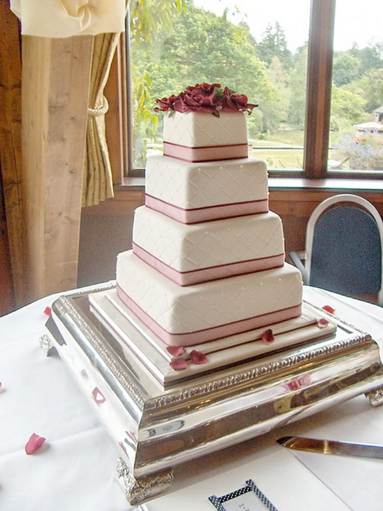 Wedding Cake Base Size Picture in Wedding Cake