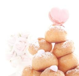 1024x1533px Wedding Cake Cream Puff Picture in Wedding Cake