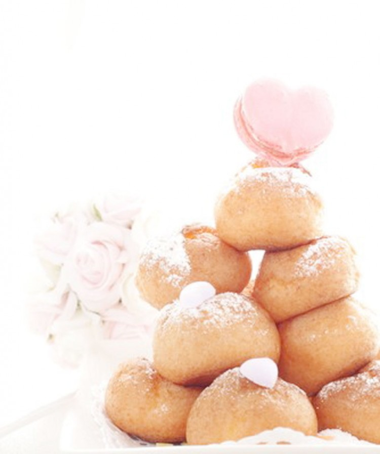 Wedding Cake Cream Puff 334×400 Picture in Wedding Cake