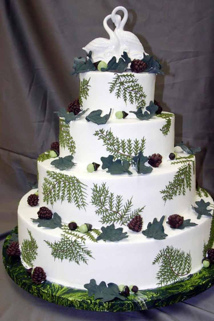 Wedding Cake Themed By Konditor Picture in Wedding Cake