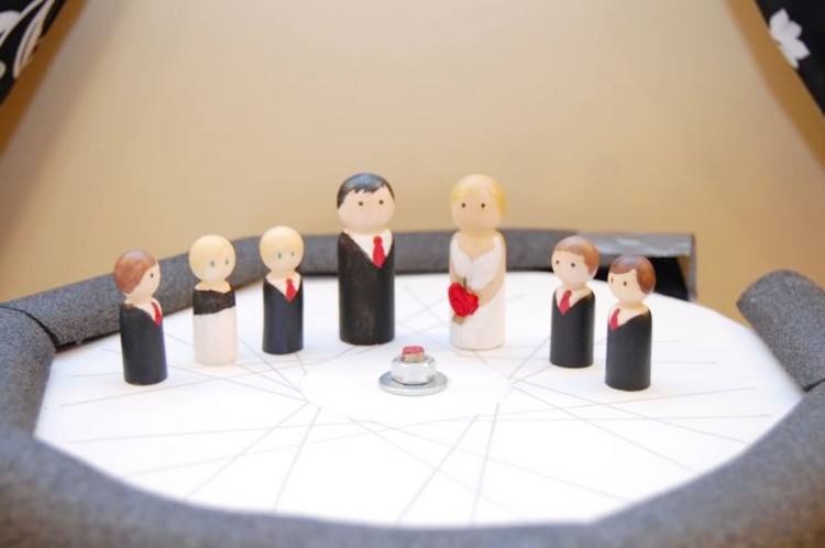 Wedding Cake Topper Projects Picture in Wedding Cake