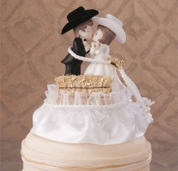 1024x1052px Wedding Cake Topper Western Picture in Wedding Cake