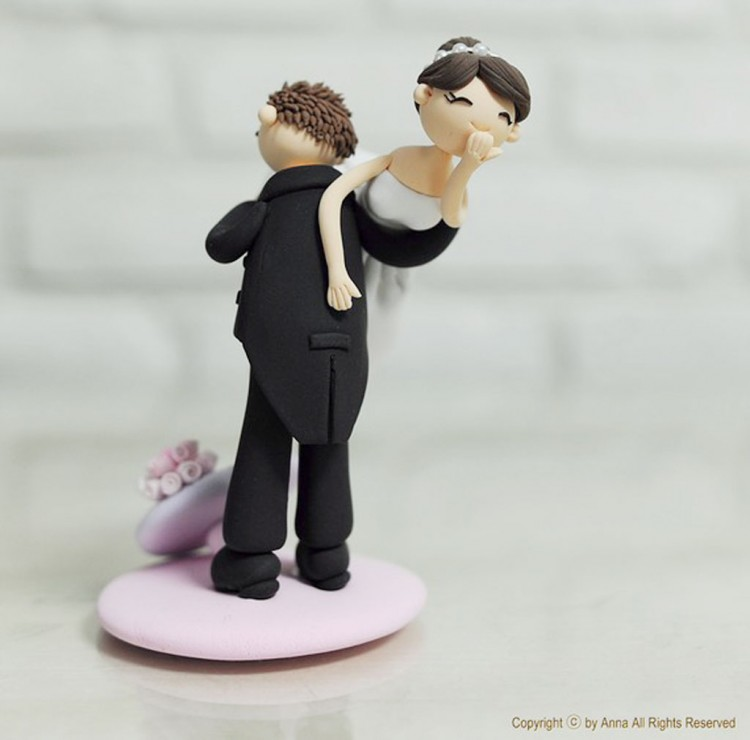 Wedding Cake Toppers Etsy 2 Picture in Wedding Cake
