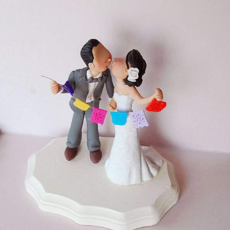 Wedding Cake Toppers Etsy 4 Picture in Wedding Cake