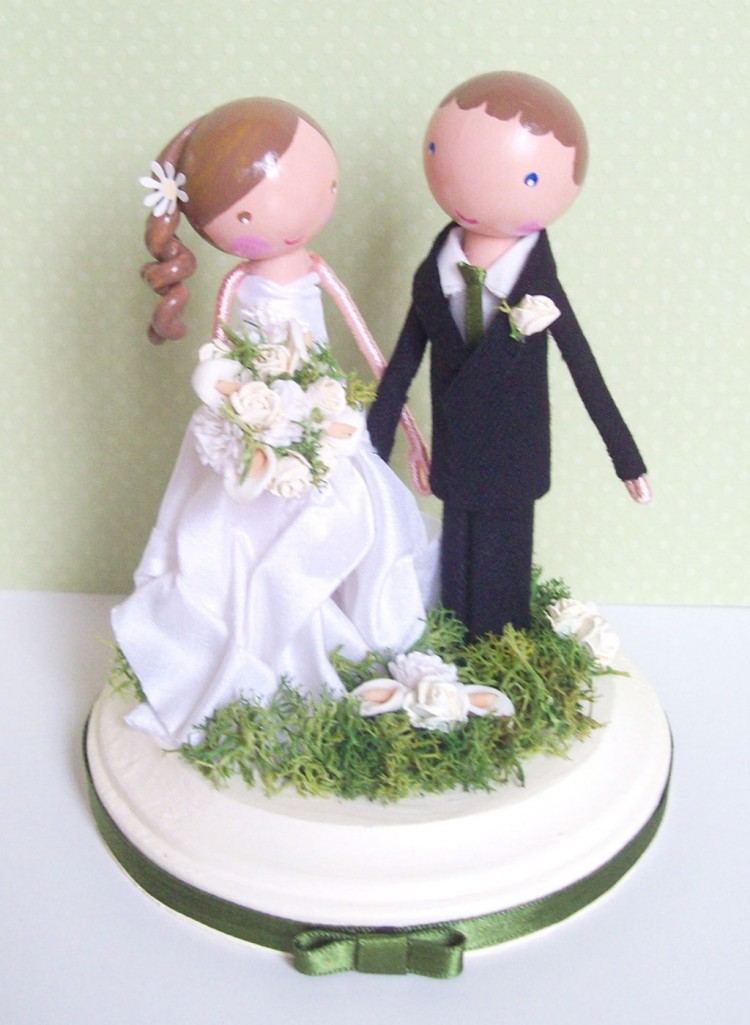 Wedding Cake Toppers Etsy 5 Picture in Wedding Cake