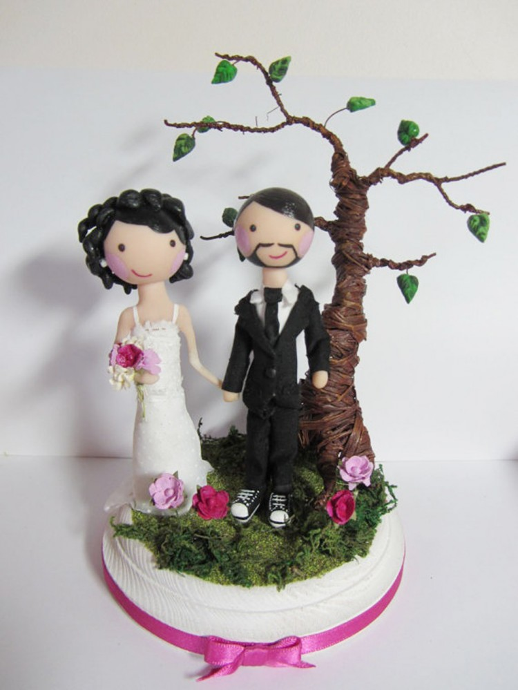 Wedding Cake Toppers Etsy 7 Picture in Wedding Cake