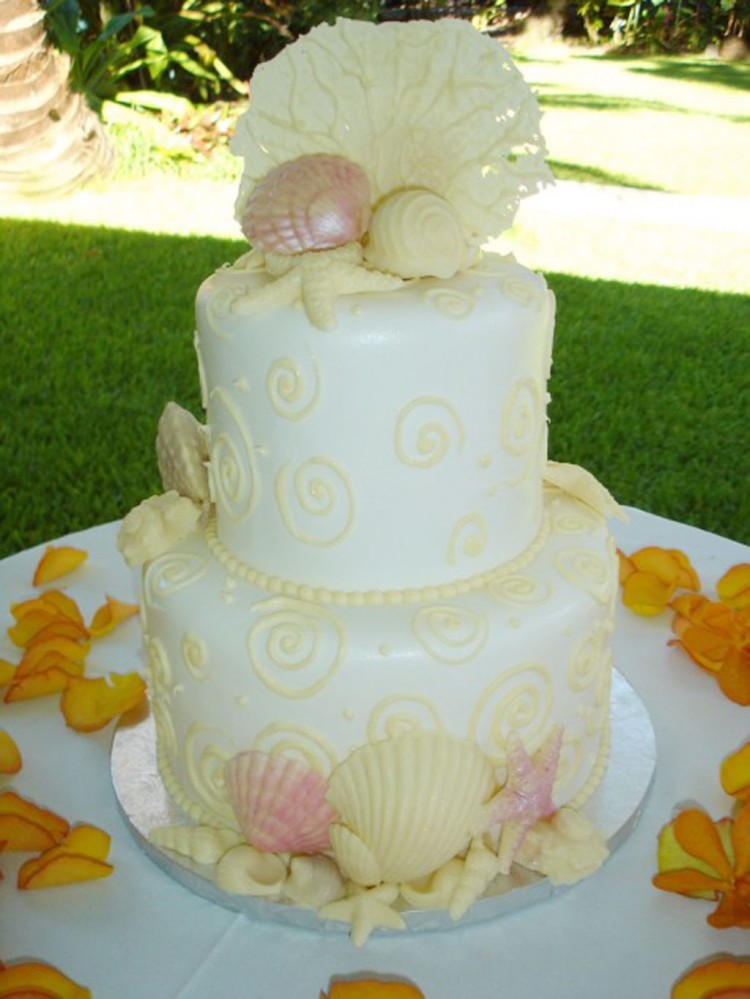 Wedding Cakes Oahu 4 Picture in Wedding Cake