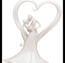 1024x1161px Weddingstar Stylish Embrace Cake Topper Picture in Wedding Cake