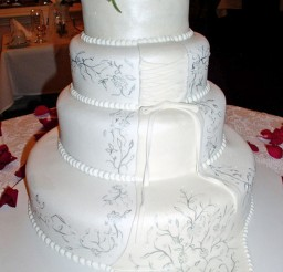1024x1456px White Wedding Cakes Richmond Va Picture in Wedding Cake