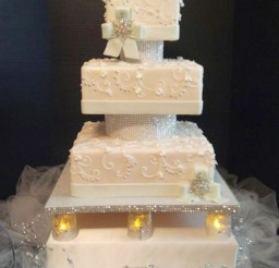 1024x1365px Winter Themed Wedding Cake Toppers Picture in Wedding Cake