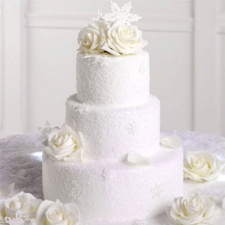 Winter Wedding Cakes Picture in Wedding Cake