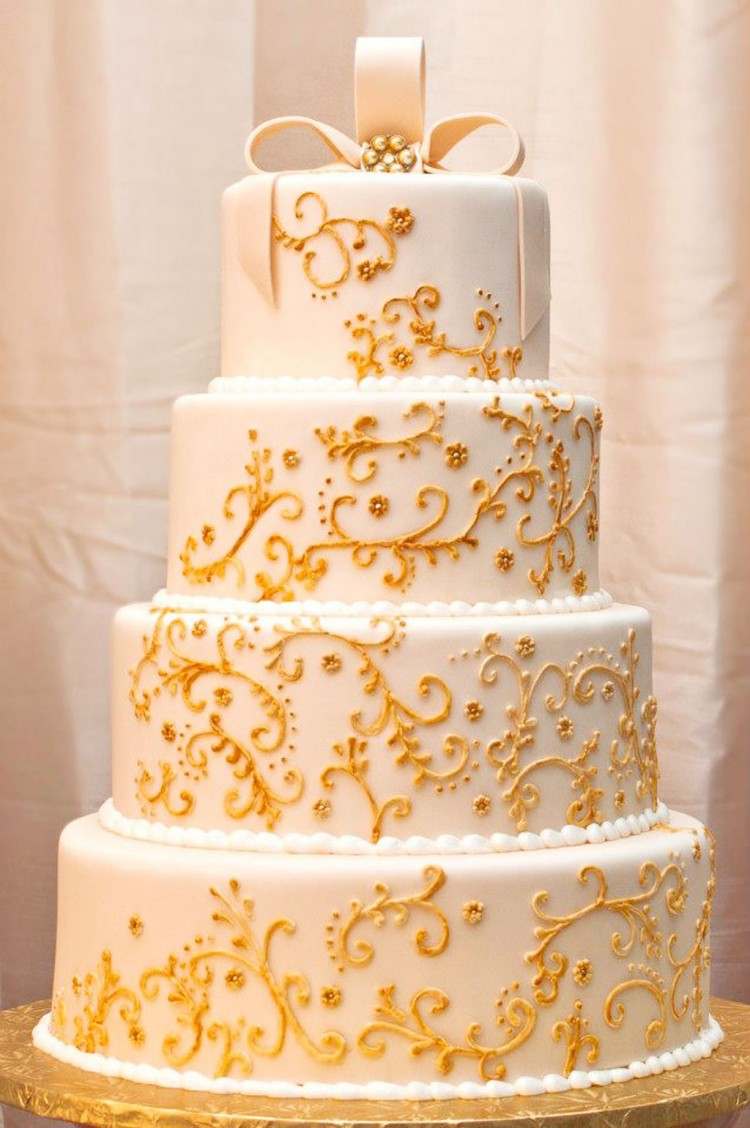 Yellow Wedding  Cakes Raleigh Nc Picture in Wedding Cake