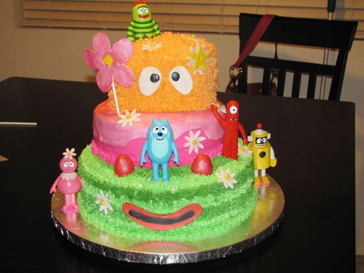 Yo Gabba Gabba Birthday Cake Picture in Birthday Cake