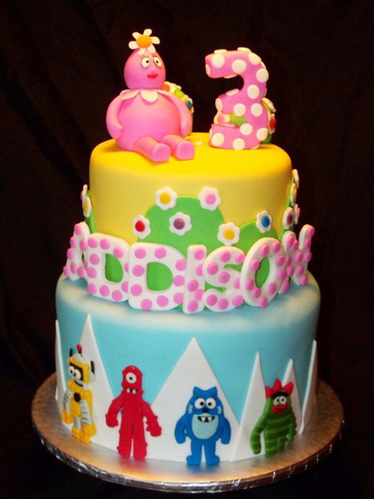 Yo Gabba Gabba Birthday Cakes Kids Picture in Birthday Cake