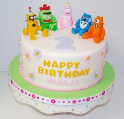 1024x930px Yo Gabba Gabba Birthday Cakes Toppers Picture in Birthday Cake