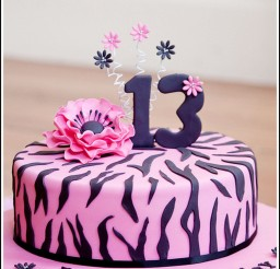 1024x1425px Zebra Print Birthday Cake Photos Picture in Birthday Cake