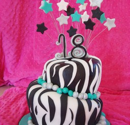 1024x1365px Zebra Print Birthday Cakes Pictures Picture in Birthday Cake