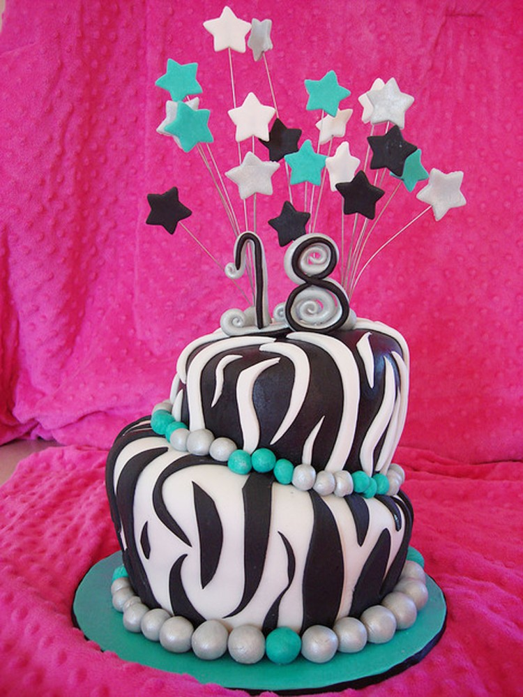 Zebra Print Birthday Cakes Pictures Picture in Birthday Cake