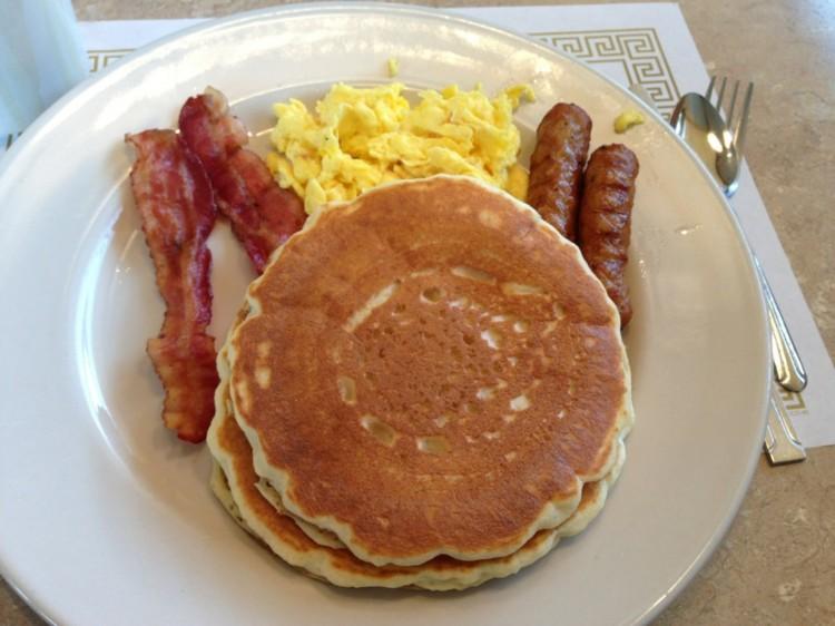 American Pancake House Mishawaka Picture in pancakes