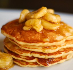 1600x1074px Banana Pancakes Recipe With Pancake Mix Picture in pancakes