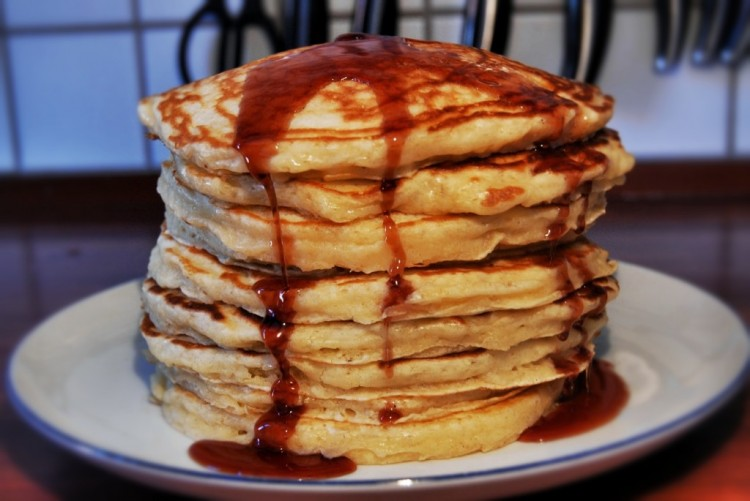 Best Buttermilk Pancake Recipe Picture in pancakes