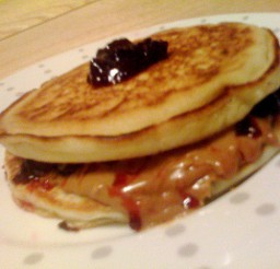 640x480px Bisquick Pancake Recipe On Box Picture in pancakes