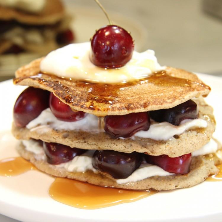 Buckwheat Pancake Mix Recipe Picture in pancakes
