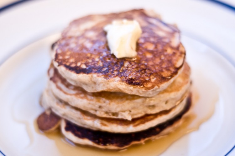 Buckwheat Pancakes Recipe Picture in pancakes