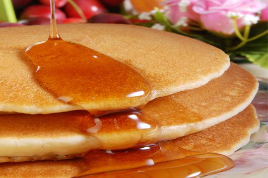 Buttermilk Pancake Mix Recipe Picture in pancakes