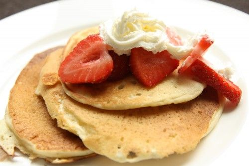 Buttermilk Pancakes From Scratch Picture in pancakes