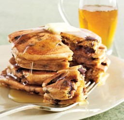 375x500px Easy Chocolate Chip Pancake Recipe Picture in pancakes