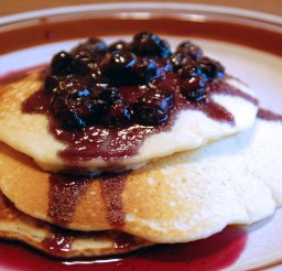 1836x1836px Homemade Blueberry Pancake Recipe Picture in pancakes