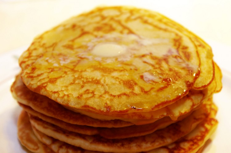 How To Make Buttermilk Pancakes From Scratch Picture in pancakes