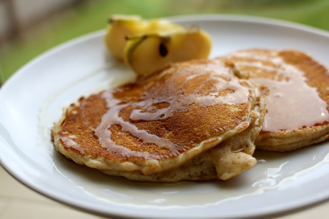 How To Make Cinnamon Pancakes From Scratch Picture in pancakes