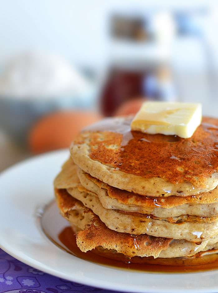 Instant Pancake Mix Recipe Picture in pancakes